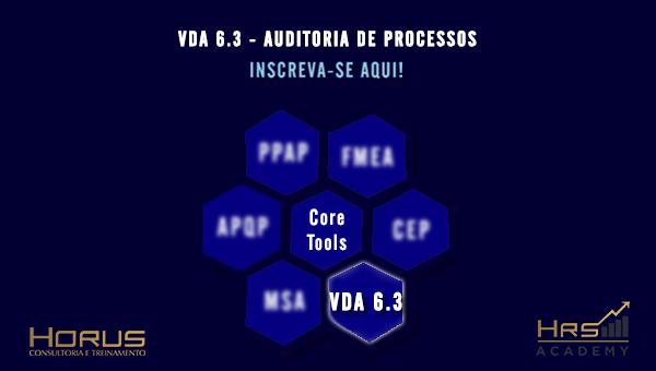 EM BREVE | VDA 6.3 Auditoria de Processos