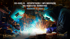 ISO 45001:18 - Interpretação e Implementação | Mentoria Empresarial (Grupos a partir de 5 pessoas)