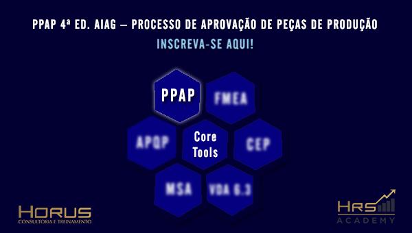 PPAP 4ª Ed. AIAG | Mentoria Empresarial (Grupos a partir de 5 pessoas)