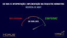 ISO 9001:2015 |  | Interpretação e Implementação de Requisitos Normativos
