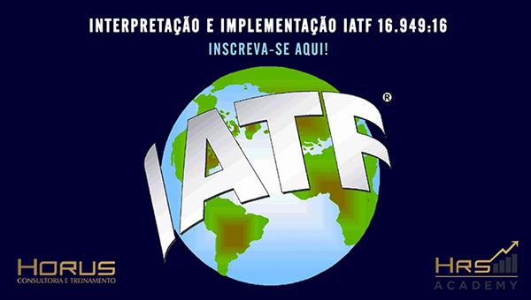 IATF 16949:16 | Mentoria Empresarial (Grupos a partir de 5 pessoas)