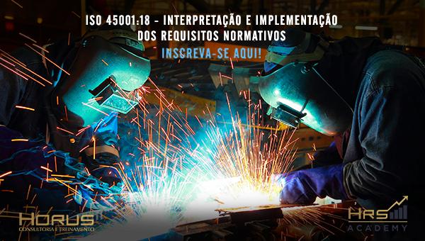ISO 45001:18 - Interpretação e Implementação dos Requisitos Normativos | Mentoria Individual